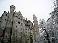 The castle, close up