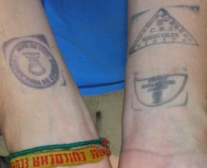 Ecuador prison stamps