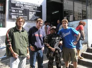 Ecuador prison visit
