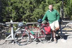 John McCarthy - Bike packed and ready to go!