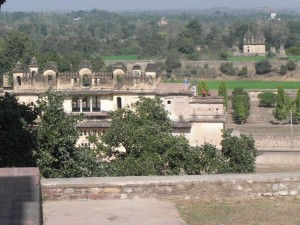 View from Orchha Fort