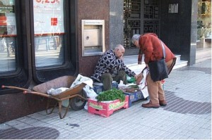 Vendors in Cacares