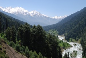 Kashmir mountain view