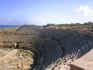 Amphitheatre at Leptis Magna, Libya