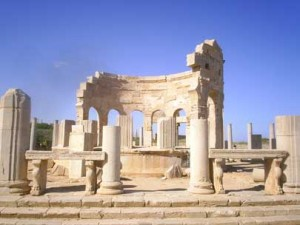 Forum, Leptis Magna, Libya