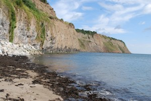 Erosion: looking north from Robin Hood's Bay