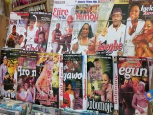 Nigeria magazine rack