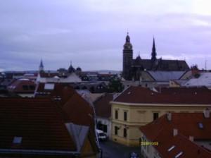 Košice skyline - with Cathedral
