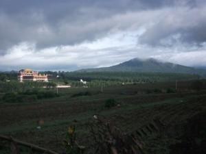 Tibetan monastery in Southern India