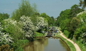 The Shropshire Union Canal at Audlem
