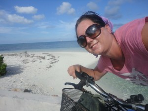 Pedal-powered Maldives
