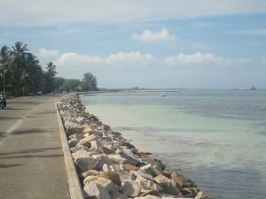 Gan to Hithadhoo causeway