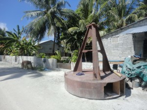 Sundial donated by 'Survivor' series