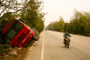 Accident, Hubei Province