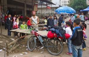 Village market, Hunan