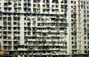 Apartment block, Hubei Province