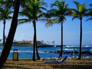 El Caribe Hilton, Puerto Rico, beach