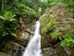 La Mina Waterfall, Puerto Rico
