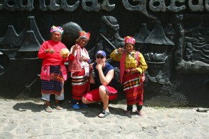 Jason with Igorot tribesmen