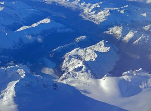 The Andes from on high