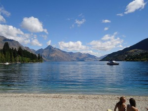 Peace on the shores of Lake Wakatipu
