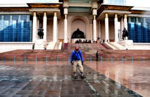 Ulaan Baatur: wet but done it