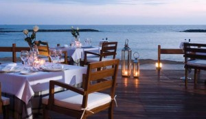 Fine dining at the Asimina Suites