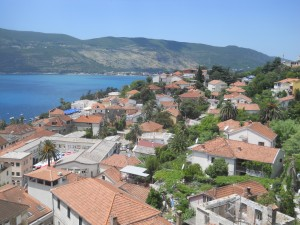 Herceg Novi,; view from the 'Bloody Tower'