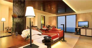 A Samabe Suite bed room