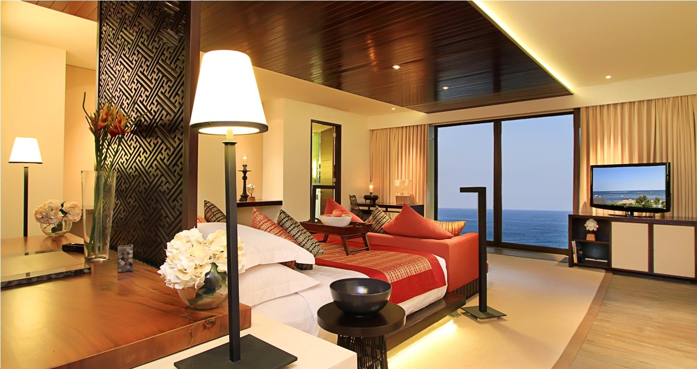 Travelmag a poetic bali wedding at samabe bali resort for Bali interior design