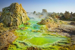 The Danakil Depression, Ethiopia
