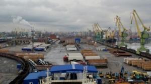 St Petersburg port