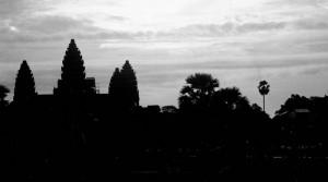 Angkor by night