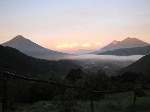 Volcano view, Guatemala