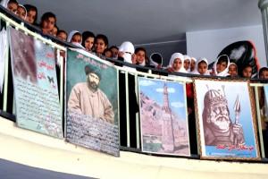 Students at Fatima Balkhi Girls School, Afghanistan