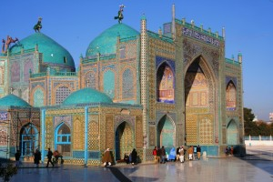 The Shrine of Hezrat Ali, Mazar-e-Sharif