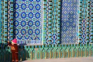 shrine of Hezrat Ali, Mazar-e-Sharif, Afghanistan