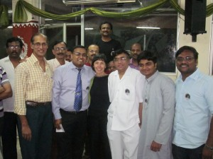 International whistling contestants, India