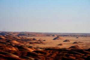 Desert landscape, Iran