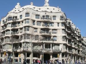 La Pedrera, by Gaudi