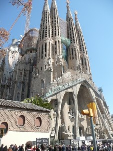 Sagrada Familia, by Gaudi