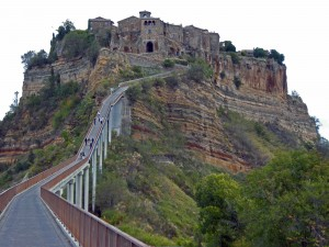 Civita, Italy's hilltop town