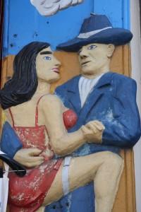 Tango street art, Buenos Aires