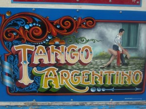 Tango sign, Buenos Aires