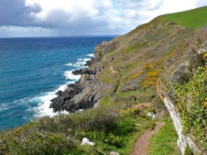 Cornwall's coast path