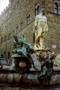 Neptune sculpture, Florence