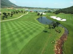 Vietnamese golf course