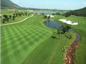 Vietnamese golf course