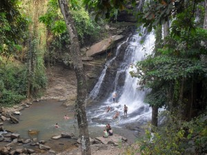 Kintampo Falls, Ghana, West Africa