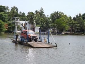 Ruskin Island, Bolgoda Lake ferry